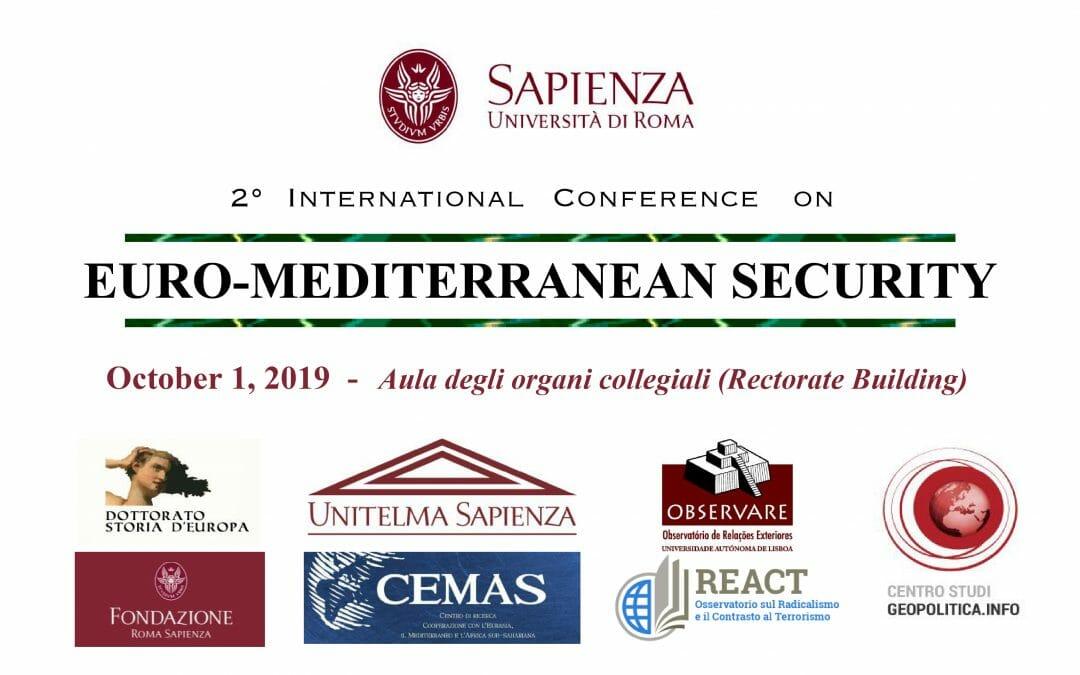 2ª Conferência Internacional Segurança Euro-Mediterrânica