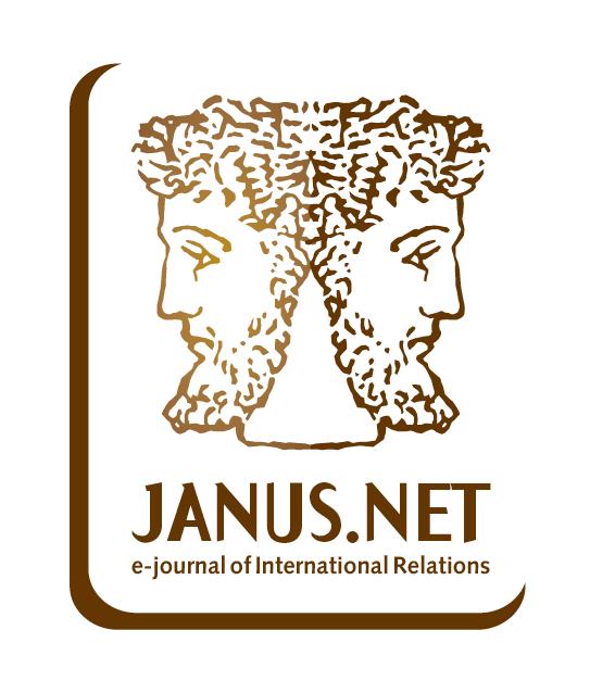 NEW ISSUE – JANUS.NET  e-journal of International Relations