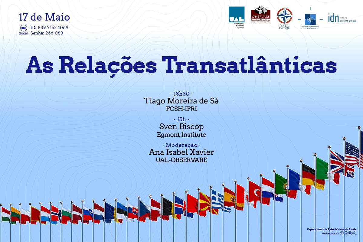 Webinar As Relações Transatlânticas