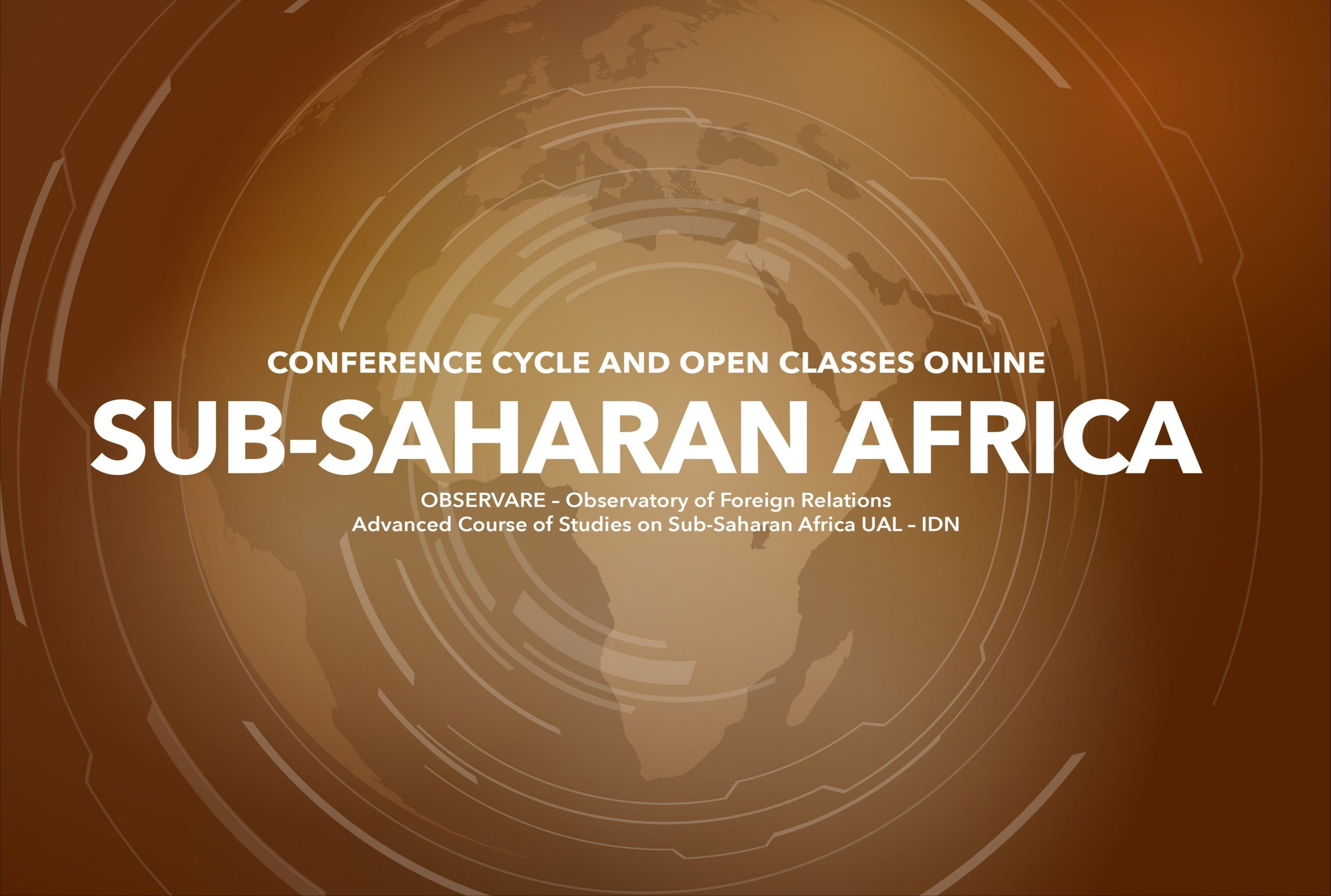 """""""SUB-SAHARAN AFRICA""""  – CONFERENCE CYCLE AND OPEN CLASSES 