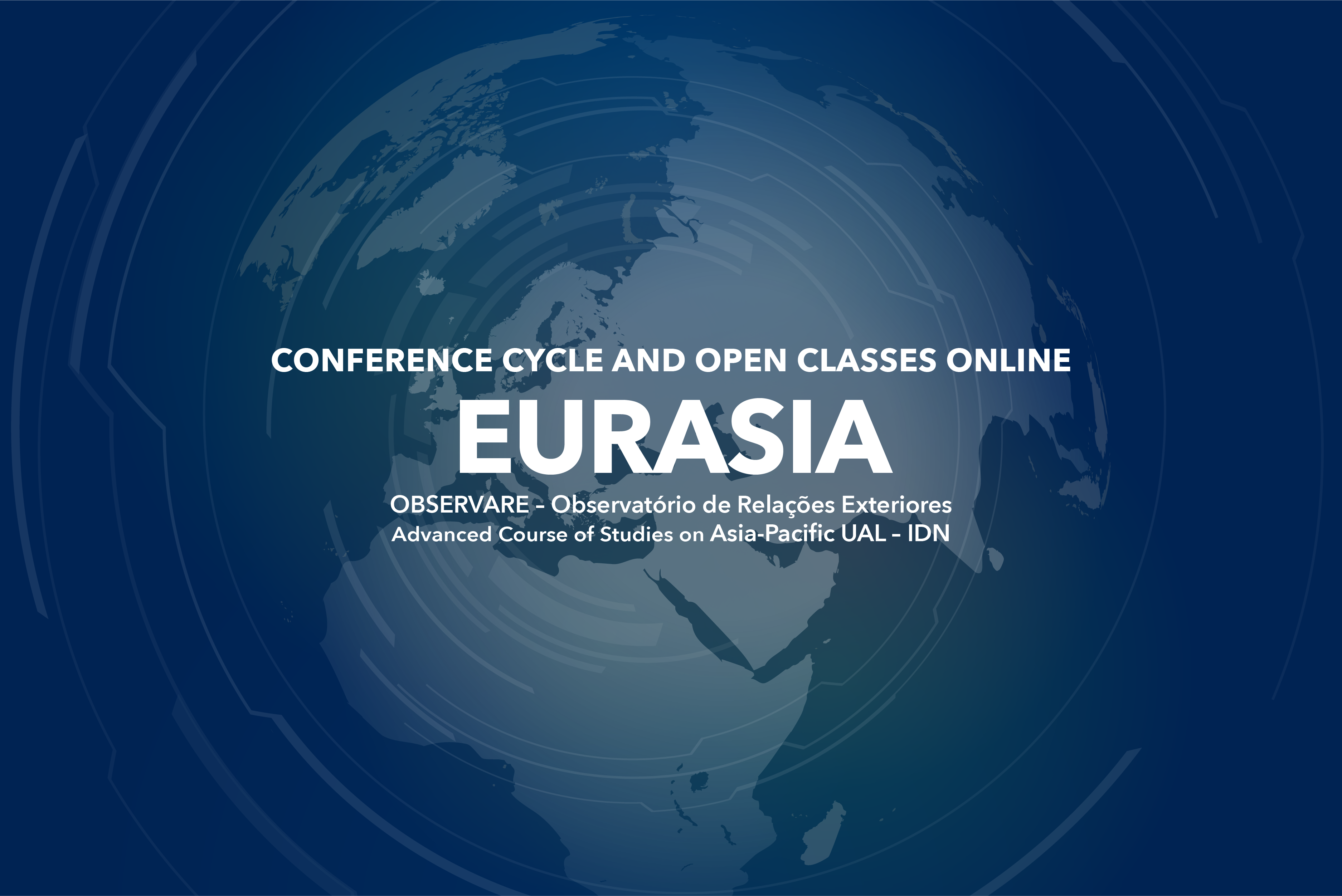 """""""EURASIA""""  – CONFERENCE CYCLE AND OPEN CLASSES   UAL-IDN"""