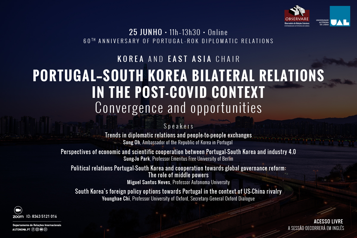 CONFERÊNCIA ANUAL DA KOREA AND EAST ASIA CHAIR