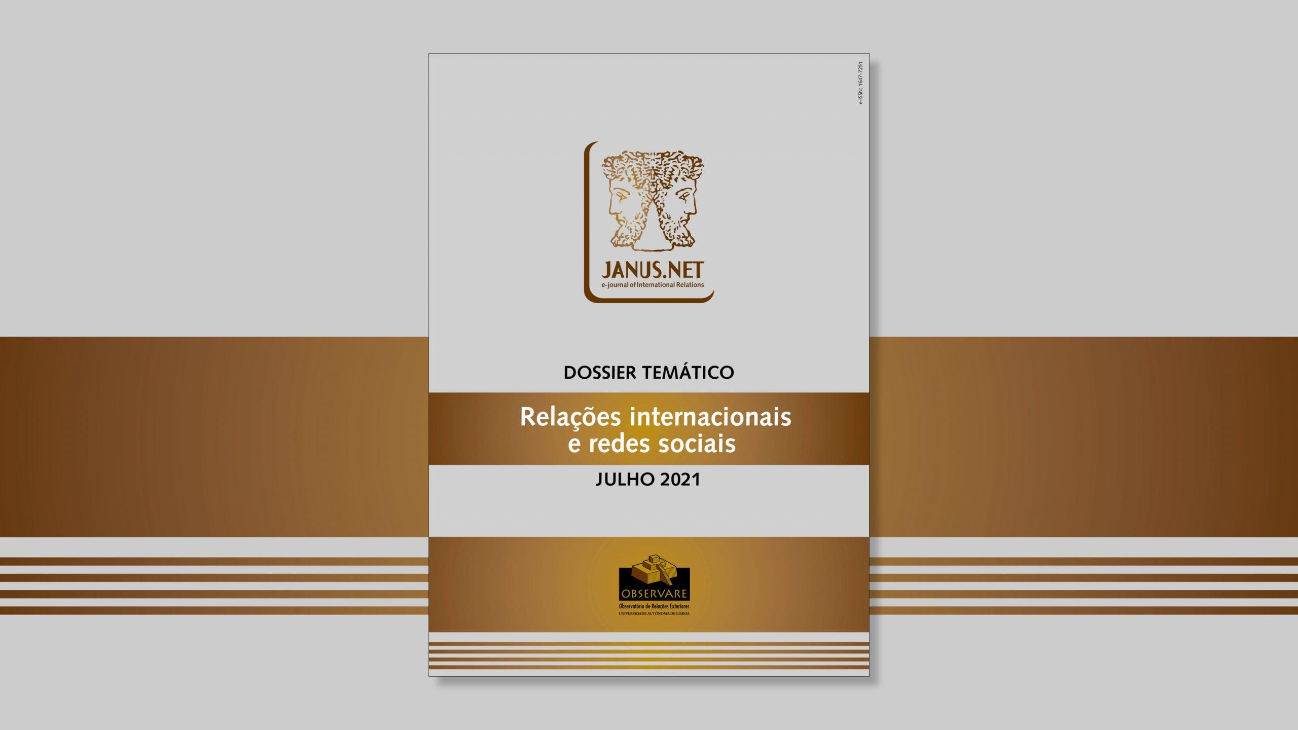 JANUS.NET – DOSSIÊ TEMÁTICO – RELAÇÕES INTERNACIONAIS E REDES SOCIAIS