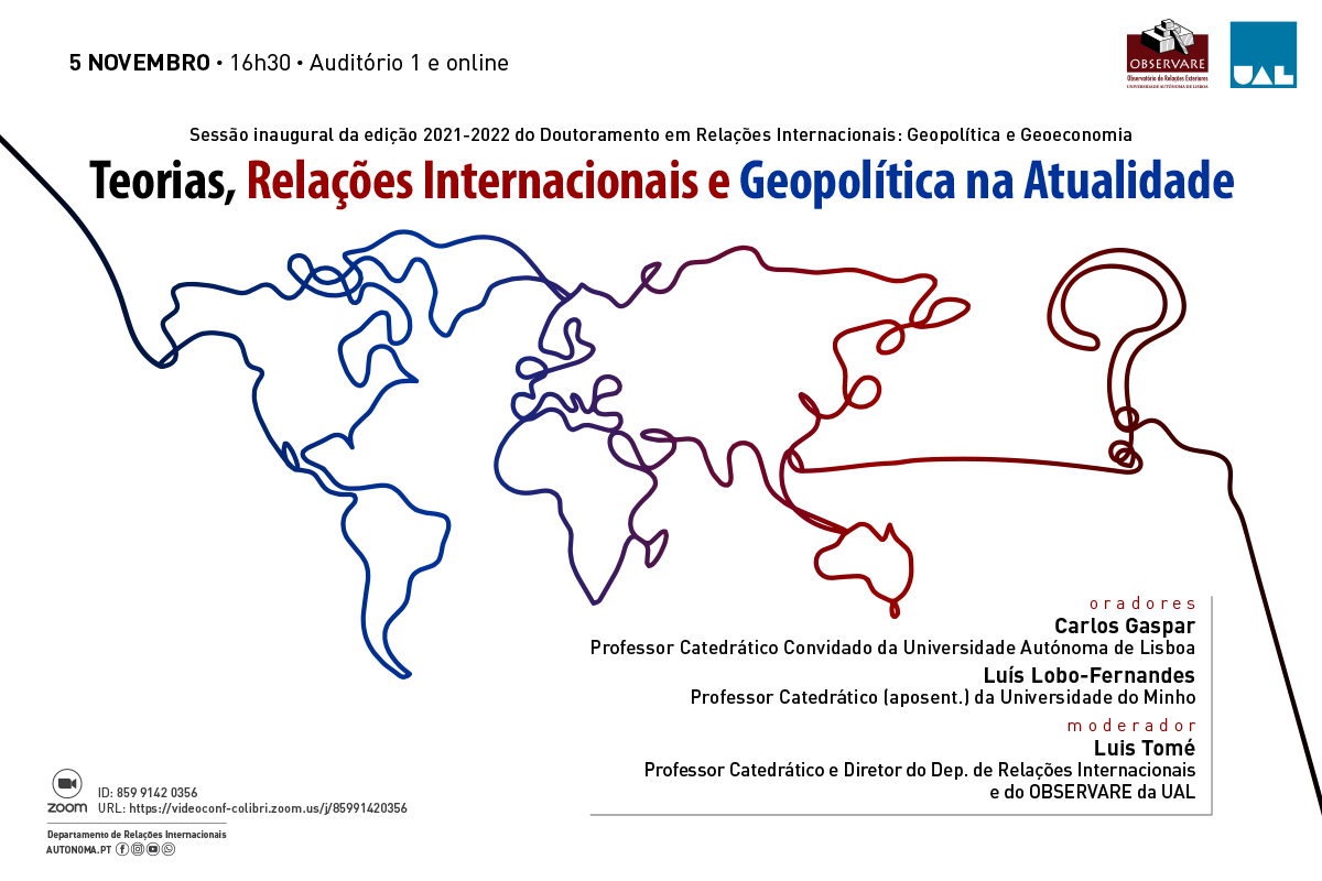 CONFERENCE: THEORIES, INTERNATIONAL RELATIONS AND GEOPOLITICS TODAY